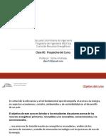 Presentación ECI Recursos Energéticos - Clase 00 - Prospectiva Curso