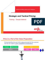 Strategic and Tactical Pricing Course Sample Materials v1 Ssd 101310