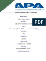 1.Introducción a La Vida; El Plan de Carrera de Marketing.