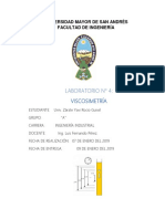 Viscosimetria