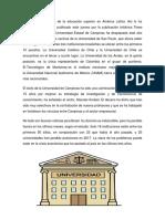 Universidades de Guatemala