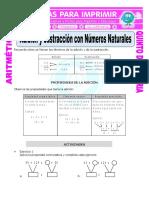 Adición y Sustracción Con Números Naturales Para Quinto de Primaria (1)