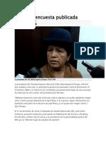 MAS Por Encuesta Publicada