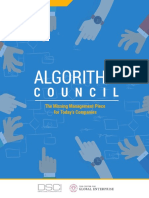 Algorithm Council DSCI 2018