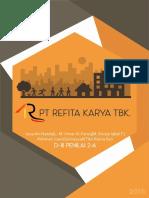 Proposal Bisnis Developer Perumahan PT R