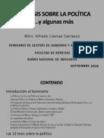 12 politicas