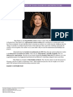 Contribution of Zaha Hadid in Achitect