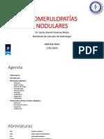 GLOMERULOPATIAS NODULARES