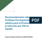 PrEP Adherencia (GESIDA)