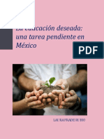 La Educación Deseada - Dra Laura Frade Rubio