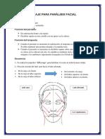 Masaje para parálisis facial y cicatrices