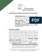 Demanda Contenciosa Administrativa 31 - Carmen Espinoza Alion