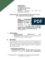 Demanda Laboral 11 - Pago de Beneficios Sociales - Muni 2