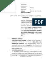 Demanda Laboral 17 - Antolino Quispe Gomez