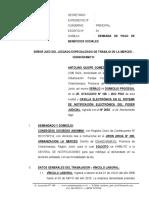 Demanda Laboral 16 - Antolino Quispe Gomez - Croco