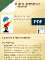 Exposicion Final-seguridad en Uso de Herramientas y Maquinas
