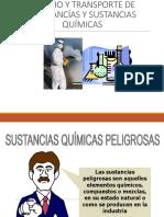CAPACITACION SUSTANCIAS QUIMICAS