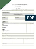 Formato de Planeacion Nuevo Modelo
