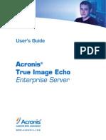 TrueImage Enterprise Server Echo