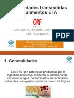 Capacitacion Orf Tema Etas y Contaminación Cruzada