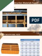Formwork System