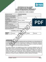 FINANZAS BASICAS AE00110