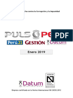 500-0119 - PULSO Enero 2019 - Popularidad+Coyuntura