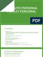 Estatuto persoanl DIPR