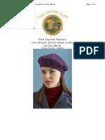 Crochet Pattern Le Chic Beret 70690AD