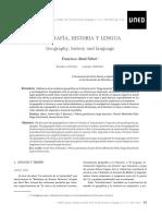 Geografía Historia y Lengua