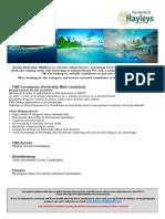 Job Advert Page 011619
