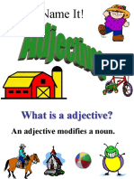 Name the Adjectives
