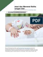 Cara Mengatasi dan Merawat Balita yang Kekurangan Gizi.docx