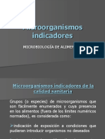 9. MICROORGANISMOS INDICADORES