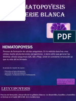 Hematopoyesis de la serie blanca