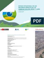Estado Situacional de Los Recursos Hídricos 2016-2017