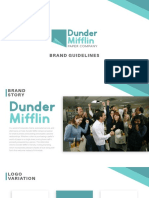 Dunder Mifflin Brand Guidlines