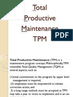 2. Total Productive Maintenance