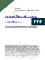 Parlez-Moi de La Drogue Mobic and Avertissements Mobic