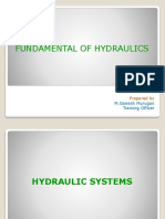 Fundamentals of Hydraulics