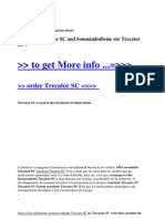 Reactions Trecator SC and Somnambulisme Sur Trecator SC