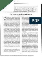 The Invention of Development.pdf