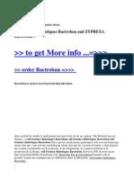 Soif d'Uriner Diabetiques Bactroban and ZYPREXA Bactroban