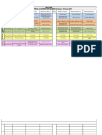 Time Table 14 Jan - 18 Jan 2019