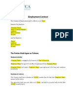 4 16 Employment Employment Contract