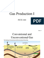 9. Gas Production I 2018