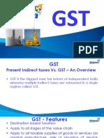 Gst- Presentaion by Brajesh Agarwal