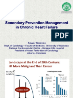 Secondary Prevention Management in Chronic Heart Failure