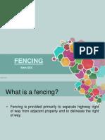 Item 604 - Fencing