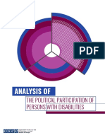 Analysis of the Political Participation of PwDs_ENG